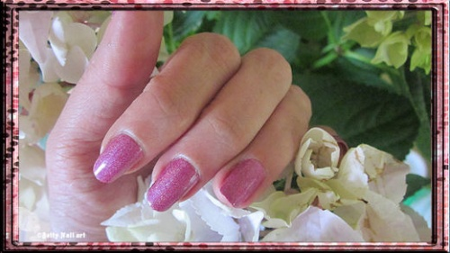 Moyra 43 hollographique rose
