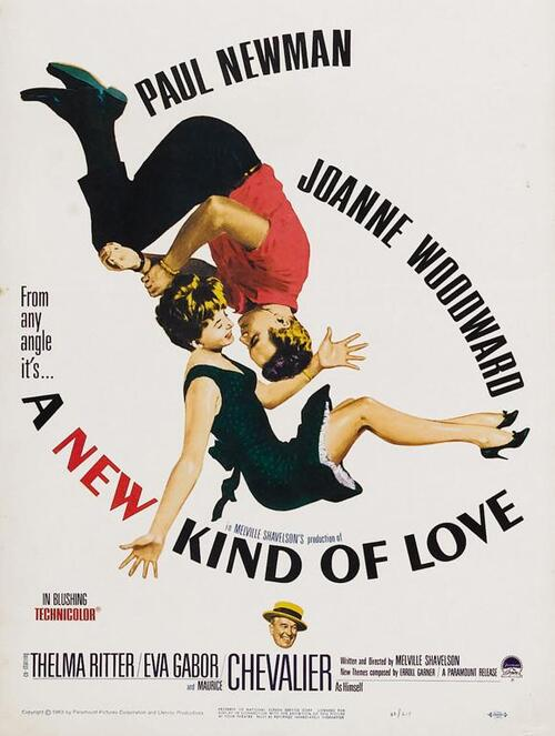 A NEW KINF OF LOVE BOX OFFICE USA 1963