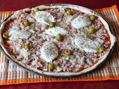 Blog de charlottopoire :Charlottopoire... mes petites créas..., Petite soirée pizza