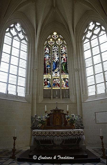 La chapelle du Chateau d'Ussé