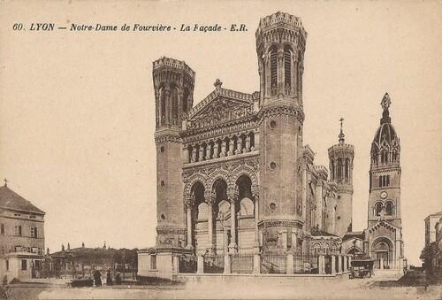 Lyon : Basilique Notre-Dame de Fourvière