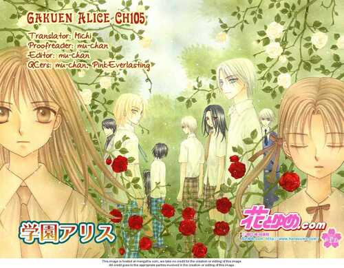 Personnages (Gakuen Alice)