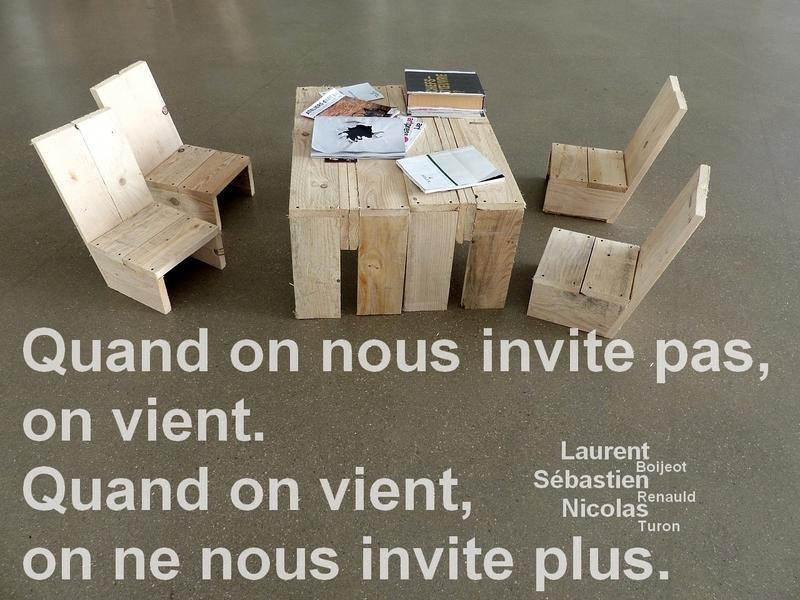 Metz / boijeot renauld turon dans le hall du Centre Pompidou-Metz...