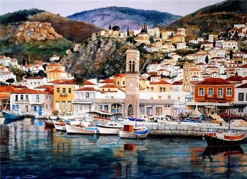 Peinture de : Pantelis Zografos