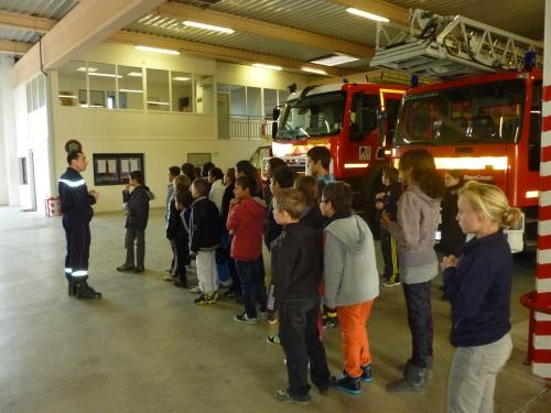 Visite de la Caserne des pompiers de Port La Nouvelle