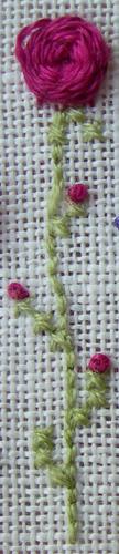 Encore de jolies fleurs, mais cette fois-ci c'est Atalie qui nous régale!