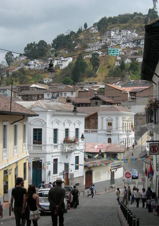 A Quito.