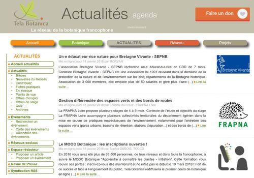 Site de Tela Botanica