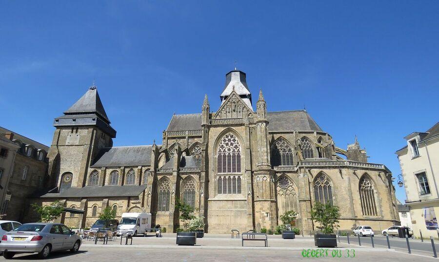 Evron dans la Mayenne