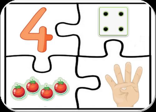Puzzles des nombres
