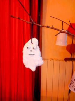 *Bricolage: des fantômes en pâte à sel