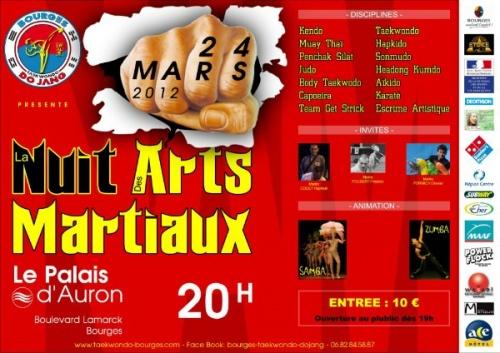 Nuit des Arts Martiaux 2012 => Kendo
