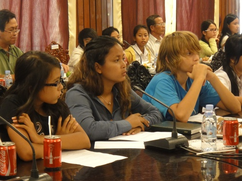 Mercredi 13 juin 2012: Audience à la Mairie de Phnom Penh