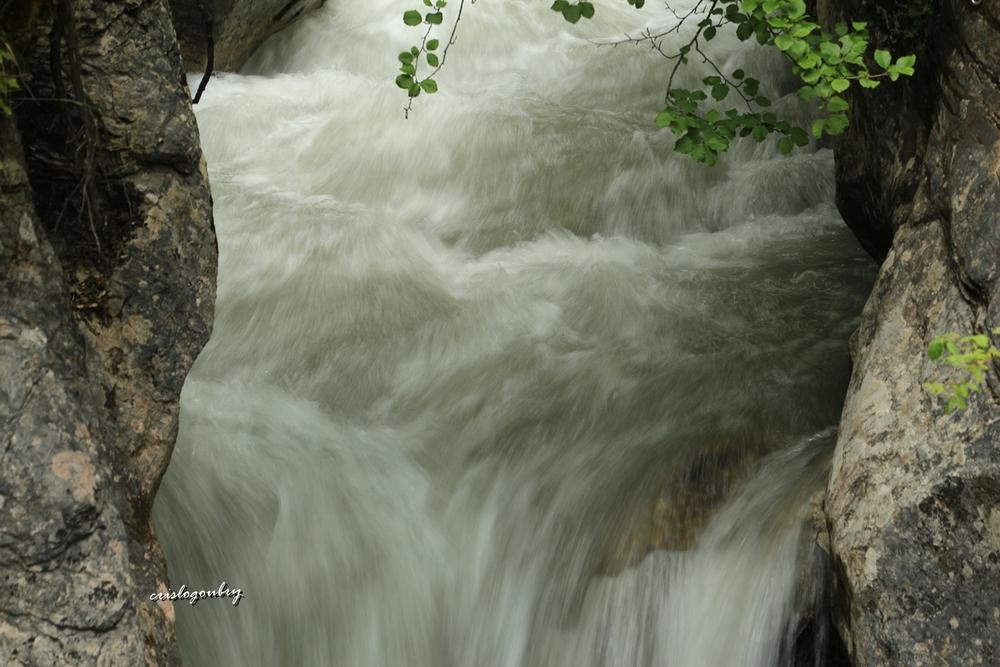 Vallée de Lenk et les cascades de Simmenfâlle (suisse)