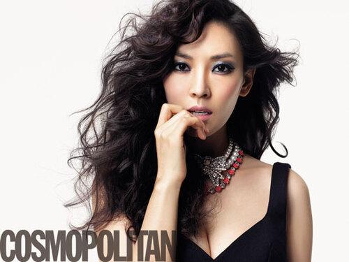Kim So Yeon pour Cosmopolitan