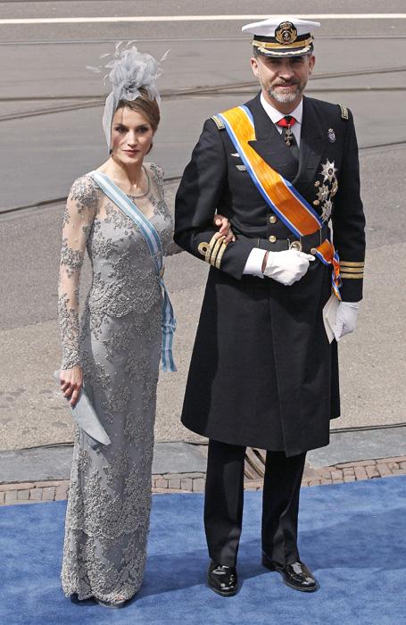 Felipe et Letizia à l'intronisation