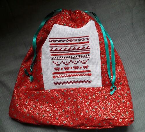Un sac en tissu pour Noël