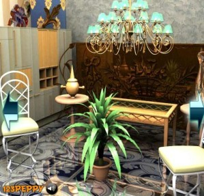 Find the objects in royal house