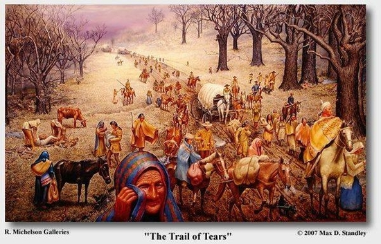 the trails of tears