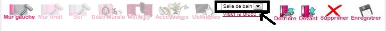 Liste de tous les objets utilisables