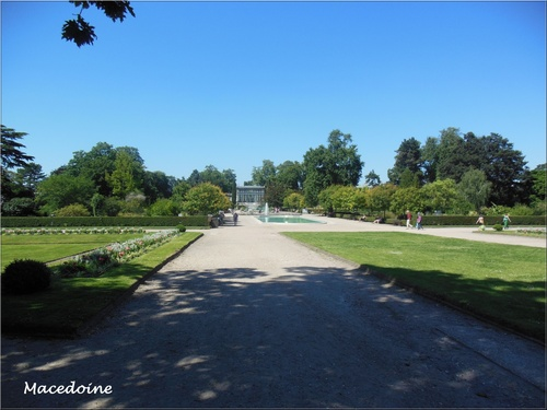 Concert au Jardin des plantes à Rouen