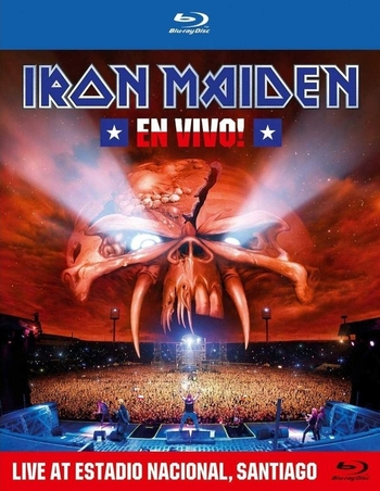 IRON MAIDEN_En Vivo_Blu-ray