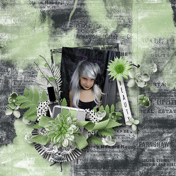 Green Beauty by Scrap de Yas