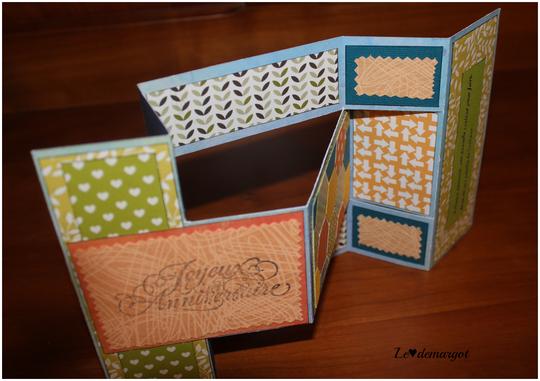 Scrap / Carte patchwork