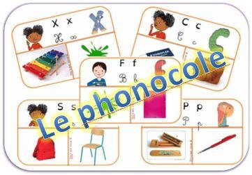 Le phonocole : jeu phono basé sur le matériel scolaire