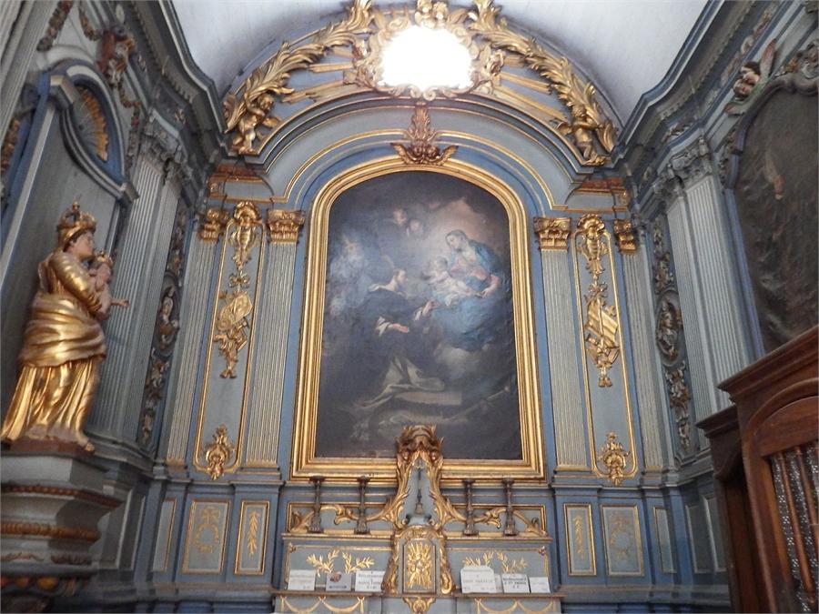 l'église de l'Isle sur Sorgue