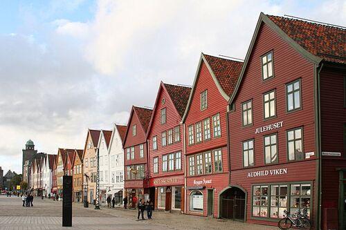 Patrimoine Mondial de L'unesco : BRYGGEN (Norvège) inscrit en 1979