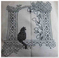 CAT in blackwork
