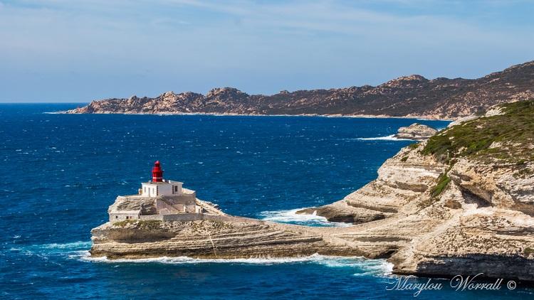 Corse : Bonifacio, Phare de la Madonetta
