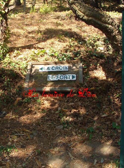 La garde freinet : la croix des Maures