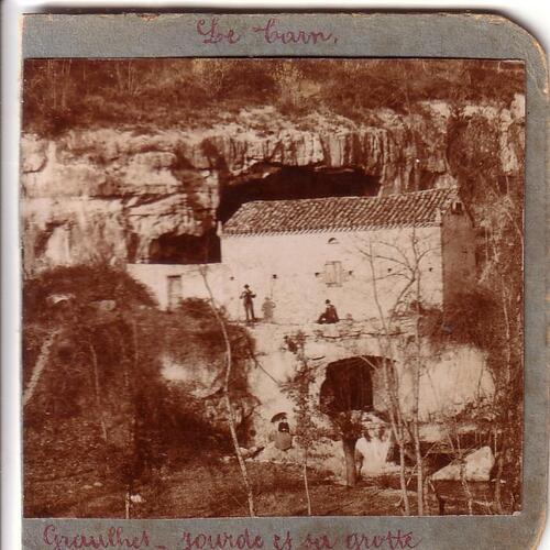 La grotte de Jourdes