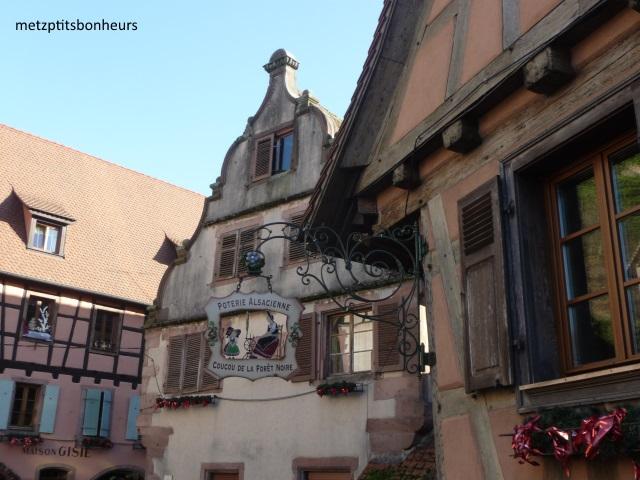 Dans les rues en Alsace...