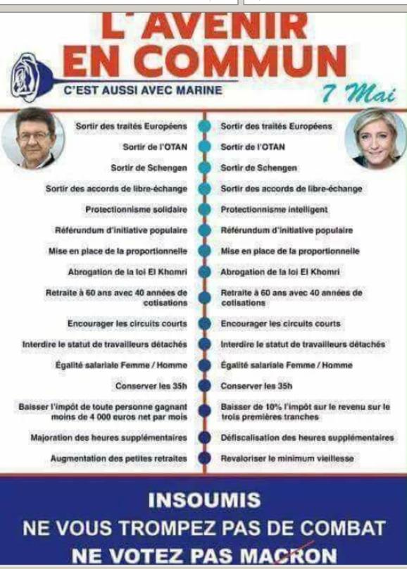 Moi Gaulliste de gauche,journaliste-écrivain,opposante au FN, j'appelle à voter MLP-NDA pour faire barrage à Macron