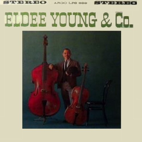 "Eldee Young & Co. : Album "" Just For Kicks "" Argo LP 699 [ US ]"