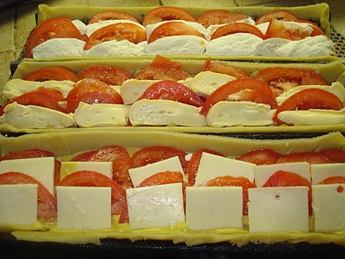 Variation autour de la Tarte à la Tomate 7