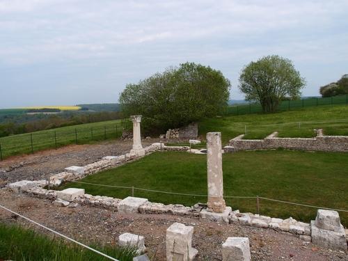 Alésia - Le monument d'Ucuetis