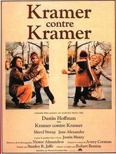 KRAMER contre KRAMER BOX OFFICE FRANCE 1980