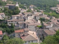 Village de la Drôme Provençale…  Pont de Barret