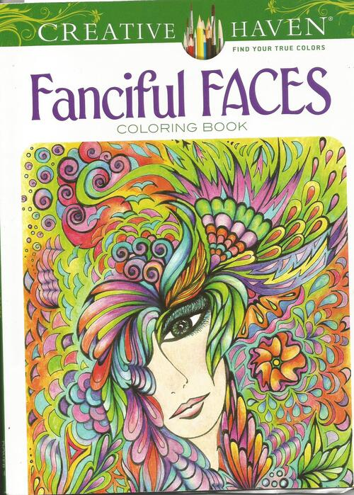 DOMANDALAS coloriages fanceful faces coloring book