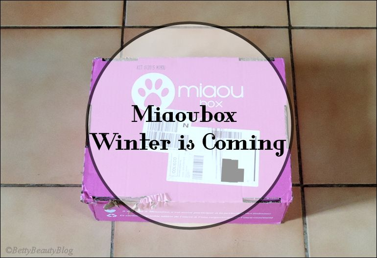Miaoubox Winter is coming