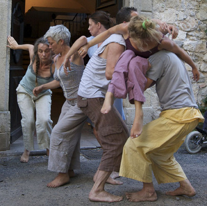 Ateliers de danse contact