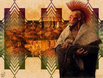 Voyage en tribu pawnee