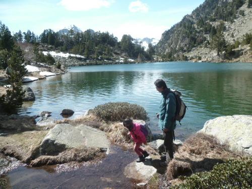 Famille : estany de Besiberri (Alta Ribagorça) - Espagne