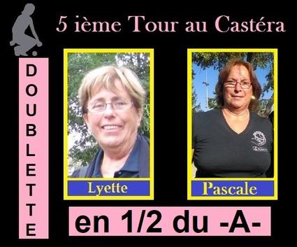 5 ième et dernier Tour du C.Z.C Féminines au Castéra et Masculins à Brignemont.