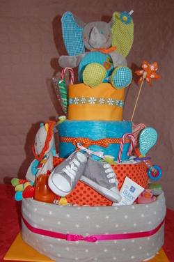 DIY : Gâteau de couches