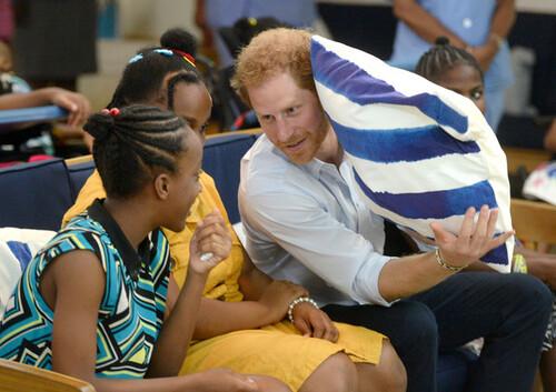 Harry et les enfants